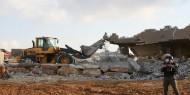 """الاحتلال يهدم منزلا في منطقة """"فرش الهوى"""" غرب الخليل"""
