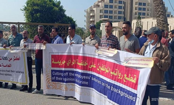 أبو طه: ننتظر رد وفد الاتحاد الأوروبي على مطالبنا وإعادة الرواتب المقطوعة