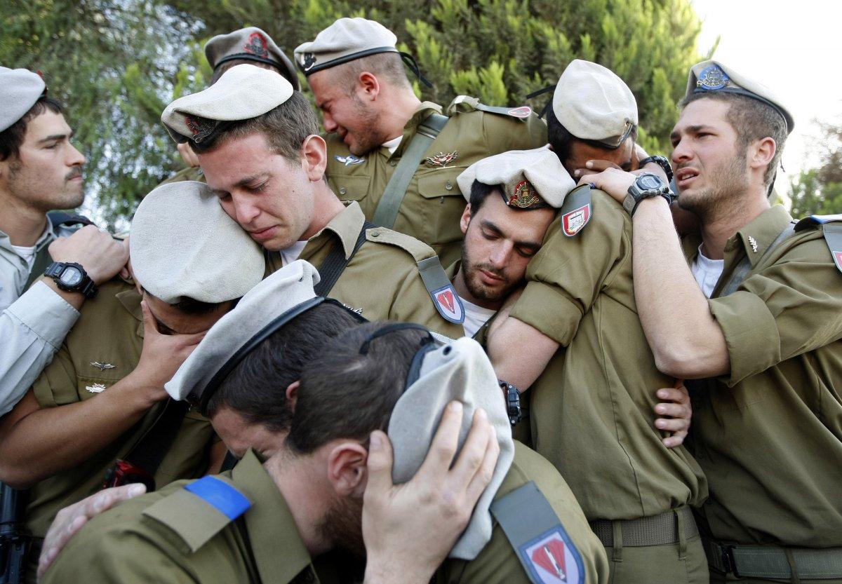 نتيجة بحث الصور عن جنود اسرائليون يبكون
